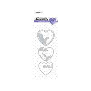 Studio Light embossing die cut layered Favourites nr.147
