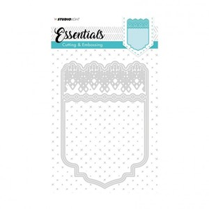 Studio Light - Embossing die cut A6 Essentials nr.197