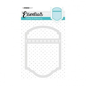 Studio Light - Embossing die cut A6 Essentials nr.198