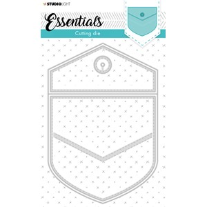 SL Cutting & Emb. Die Cardshape Back pocket Essentials 140x2