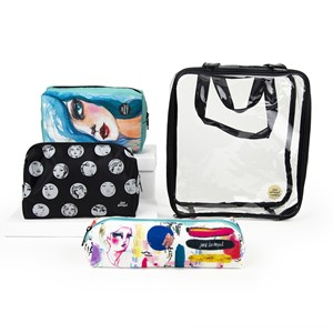 Spellbinders Open & Shut Case Storage Pouches & Tote (JDM-04