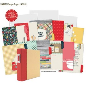 Homespun -  SN@P! Recipe Divider Pages