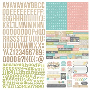 Hello Baby - Expressions Cardstock Sticker