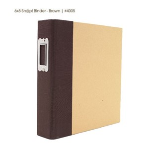SN@P! Binder Brown