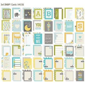 Baby Boy Snap 3x4 Cards