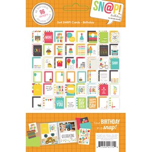 SN@P! Sets -  Birthday SN@P! 3x4 Cards