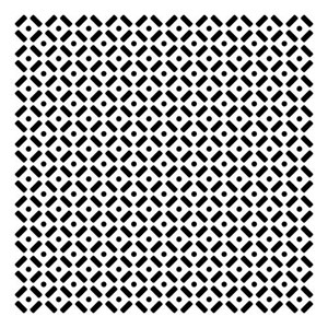 12x12 Template Dots & Dashes - 50% RABATT - UTGÅR