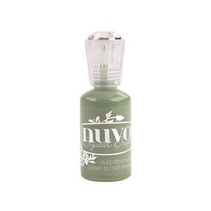 NUVO CRYSTAL DROPS - Olive Brn