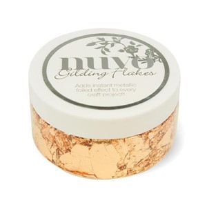 Nuvo Gilding Flakes - Sunkissed Copper - 852N