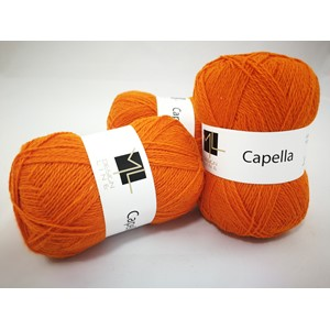 Capella garn No.7/2, col. 760, Varm orange