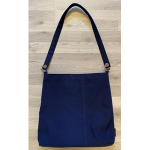 Shopper V2 bag in Milano Dark blue