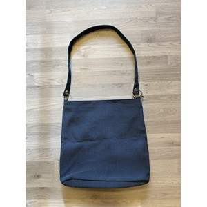 Shopper V2 bag in Milano Blue grey