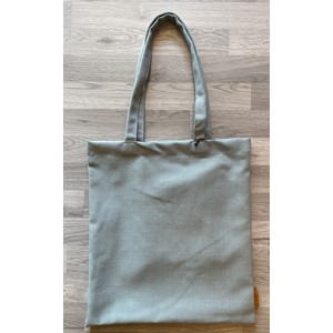 Totebag with pocket in Titan col. 01404, light blue