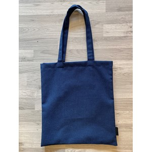 Totebag with pocket in Titan col. 03408, dark blue