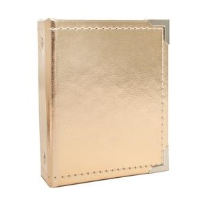 Instax Albums - We R - 2.1 x 3.4 - Gold 10 Photo Sleeve