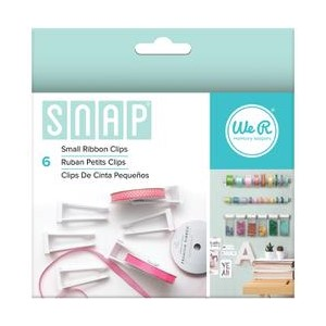 Ribbon Clips - We R - Snap Storage - Small 6 Piece
