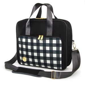 WR Craft ShldrBag Plaid Black